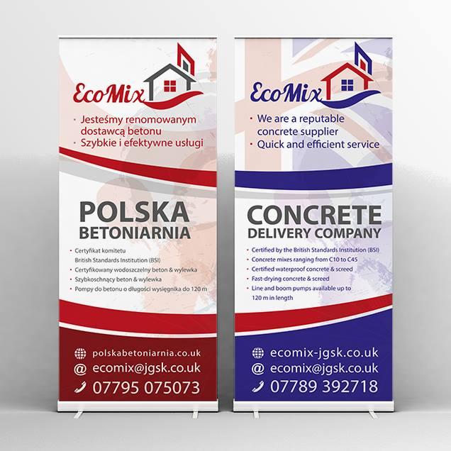 Polska betoniarnia - roll up